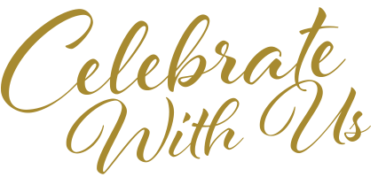 Celebrate with us
